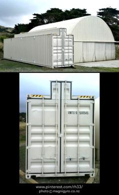 GYRO HANGAR! Magni Gyro New Zealand is selling these modified 12m (40') storage containers which make the perfect gyrocopter hangar. You can view more photos & get price and purchase info at http://magnigyro.co.nz/?q=node/13.