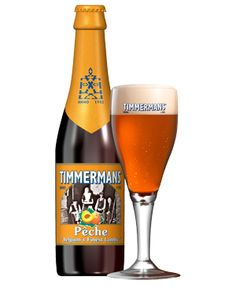 Timmermans Peach, fruit Beer