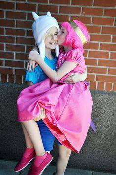 #Cosplay #Couples #AdventureTime  #Finn & #BubblegumPrincess 14 age