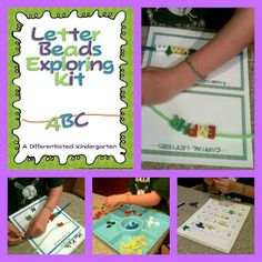 Freebies to get your letter bead center started.