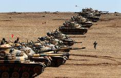 Turki memperluas mandat militer di Suriah dan Irak  ANKARA (Arrahmah.com) - Parlemen Turki meloloskan mosi pada Sabtu (1/10/2016) untuk memperpanjang mandat yang memungkinkan aksi militer terhadap organisasi teror di negara Suriah dan Irak selama satu tahun lagi.  Parlemen Turki yang bersidang pada hari Sabtu pada hari pertama sidang parlemen membahas mandat militer yang akan berakhir pada 2 Oktober.  Berdasarkn langkah terbaru tersebut pemerintah Turki diberi kewenangan untuk melancarkan…