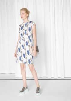 & Other Stories   Water Lily Jersey Dress