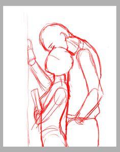 テテ(@tete_rakugaki)さんのメディアツイート / Twitter Body Reference Drawing, Drawing Reference Poses, Drawing Base, Figure Drawing, Anime Drawings Sketches, Dark Art Drawings, Body Drawing Tutorial, Art Inspiration Drawing, Art Poses