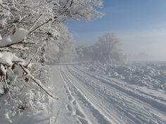 Winter op de posbank