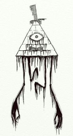 Creepy Bill Cipher Gravity Falls Drawing Tattoo Creepy Bill Cipher Gravity Falls Drawing Tattoo More from my site Bill tattoo, gravity falls, thanks for this great adventure! Cool Tattoo Drawings, Fall Drawings, Creepy Drawings, Creepy Tattoos, Dark Art Drawings, Creepy Art, Creepy Sketches, Creepy Paintings, Tattoo Sketches