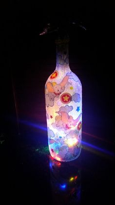 Check out this item in my Etsy shop https://www.etsy.com/listing/257512095/dumbo-light-up-wine-bottle