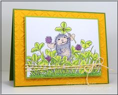 DTGD14Stamperrobin - Mousie Luck by LuvLee - Cards and Paper Crafts at Splitcoaststampers