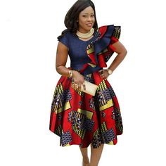 Big Size Traditional Dresses for Women 2018 Dashiki Elegant Bohemian Beach Dress Vestido Sexy African Clothes African Dashiki, African Dress, African Clothes, African Style, Gown Pattern, Dress Patterns, African Inspired Clothing, Latest African Fashion Dresses, Bohemian Beach