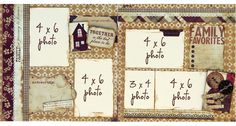 Always Remember page kit from embellish-it.com. Might be a good layout to remember dad through the years?