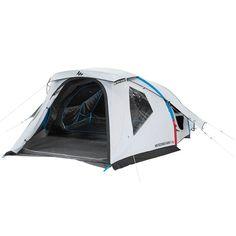 Bergsport_Zelte Camping (QUECHUA) - Zelt Air Seconds 4 Fresh&Black 4 Pers QUECHUA - Zelte
