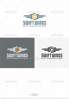 Swift Wings Logo — Transparent PNG #auto #support • Available here → https://graphicriver.net/item/swift-wings-logo/4156294?ref=pxcr