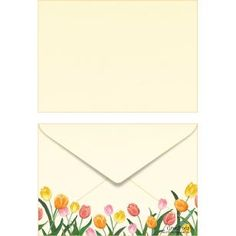 Tulip ISO C6 0001,Envelopes ,Card,yellow,multi-purpose,C6 size envelope,tulip,flower