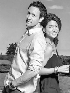 Alex O'Loughlin & Grace Park (Hawaii Five-0)