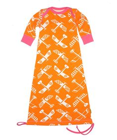 sew a baby sleep sack with a drawstring..