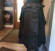 Leather Skirt Man Jon Snow Woman Medieval Larp elves von Elbengard