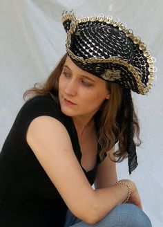 The Art of Can Tabistry: My New Pirate Hat