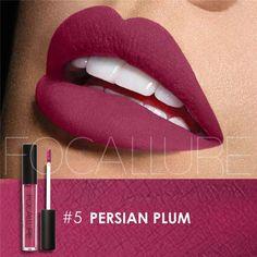 Make Up Lips Moisturizer Long Lasting Metallic Lipstick Matte Liquid Lip Tint Pigment Nude Metals Lip Gloss Matte Beauty Lips Long Lasting Lip Gloss, Long Lasting Lipstick, Metallic Lipstick, Liquid Lipstick, Purple Lipstick, Liquid Makeup, Lipstick Shades, Cheap Lipstick, Makeup Looks