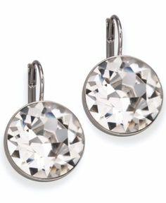 Swarovski drop earrings.. Have something that's sort of similar! :)