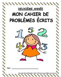 mon cartable | 1er cycle - Résolution de problèmes Division Activities, Kindergarten Math Activities, Teaching Math, Daily Math, Math Addition, Math Books, 1st Grade Math, Grade 2, Pre Writing