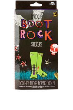 BOOT ROCK