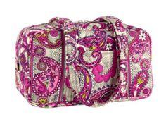 Vera Bradley NWT 100 Handbag Paisley Meets Plaid. Starting at $30 on Tophatter.com!