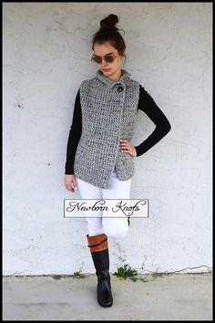 Crochet Pattern The Sherwood Vest. Pattern number 084. Instant