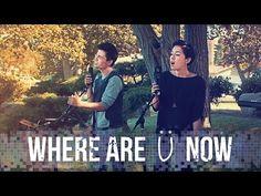 Where Are U Now - Skrillex, Diplo, Justin Bieber - Sam Tsui, Kina Grannis & KHS Cover - YouTube