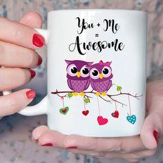 Owl cup Owl Coffee, Coffee Mugs, Owl Always Love You, My Love, Owl Decorations, Owl Kitchen, Owl Art, Cute Owl, Serendipity