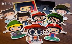 Octodex Sticker Packs