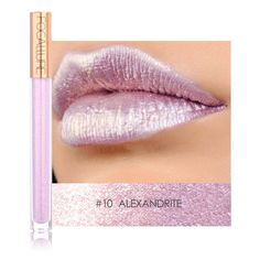 Glitter lip gloss ($11) ❤ liked on Polyvore featuring beauty products, makeup, lip makeup and lip gloss