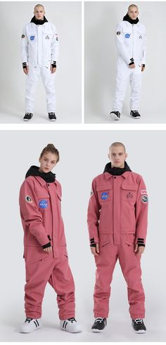 Women's Slope Star Pink One Piece Snowboard Suit Jumpsuit – Gsou Snow Ski Jumpsuit, Pink Jumpsuit, One Piece Man, Pink One Piece, Snowboard Suit, Snowboarding Outfit, Suits For Sale, Star Wars, Snow Suit