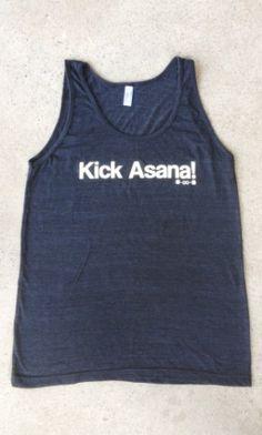 Kick Asana Tank Top. Want! Thanks to instagram i have found - Www.veganyogiunicorn.com
