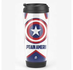 Marvel Captain America Double Plexiglass Insulation Mug Cup