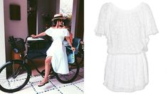 Miroslava Duma - Insta-Chic: How to Wear Summer's Off-the-Shoulder Trend