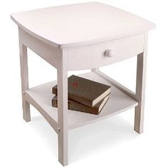 Curved Nightstand / End Table - WALMART - $38