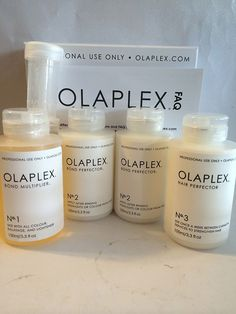Camp Personal Care - Olaplex Traveling Stylist Kit Step 1 2 3 Full Kit ** Continue to the product at the image link. Bleach Damaged Hair, Damaged Hair Repair, Bleached Hair Repair, Olaplex Before And After, Natural Hair Care, Natural Hair Styles, Tips Belleza, Hair Care Tips, Hair Tips
