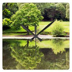 Keston Ponds Square Wall Clocks