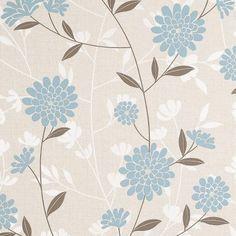 A s creation tea garden duck egg floral wallpaper more for Arthouse jardin wallpaper