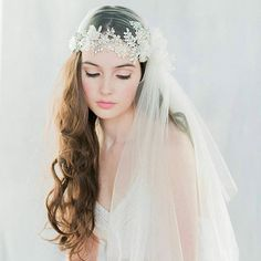Loving  this beautiful  lace trimmed  veil by @blairnadeaumillinery  #Repost ・・・ Meet Antoinette - our crystal encrusted Juliet cap veil.  Our absolute most favourite veil from the 2016 collection is our Antoinette veil.  Wonderful dreamy veil inspiration. Makeupartist and hairstylist for fineart and destinationbrides http://www.patriciasoper.com