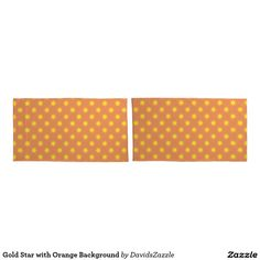 Gold Star with Orange Background Pillow Cases Available on many products! Hit the 'available on' tab near the product description to see them all! Thanks for looking!  @zazzle #art #star #pattern #shop #home #decor #bathroom #bedroom #bath #bed #duvet #cover #shower #curtain #pillow #case #apartment #decorate #accessory #accessories #fashion #style #women #men #shopping #buy #sale #gift #idea #fun #sweet #cool #neat #modern #chic #navy #blue #black #orange #grey #gray #yellow #gold #purple