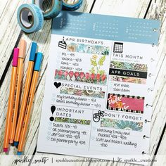 {I'm backdating my posts to the week thatis datedin my planner.}…