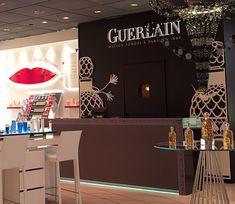 Scéno-Illustration Pop Up store Guerlain