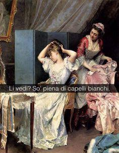 Se i quadri potessero parlare La toilette - Raimundo de Mandrazo y Garreta