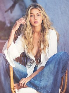 GIGI HADID IS UNREAL SEXY IN THIS NEW BEACHSIDE SHOOT