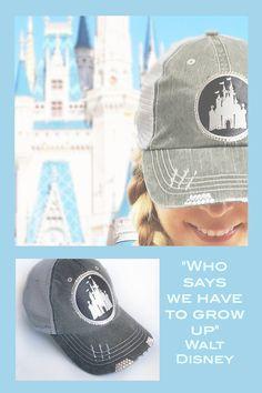 cde0d0028e2 Womens Disney Hat - Disney Castle Baseball Cap