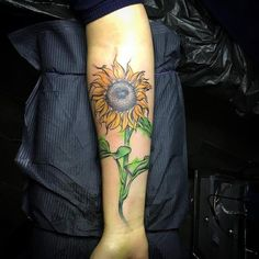 125 Top Rated Sunflower Tattoos - Wild Tattoo Art