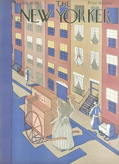The New Yorker - Saturday, July 30, 1927 - Issue # 128 - Vol. 3 - N° 24 - Cover by : Unknow ?