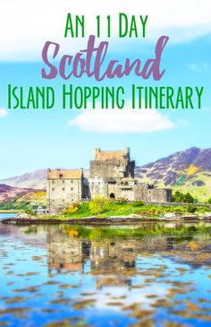 An island hopping itinerary for the Hebrides islands in Scotland Catriona and I packed a lot into our 11 days in Scotland. But one of the great things about the Hebrides is that most of the islands are so small, even after only a couple Scotland Road Trip, Scotland Vacation, Scotland Travel, Visiting Scotland, Places To Travel, Oh The Places You'll Go, Travel Destinations, Holiday Destinations, Scottish Islands