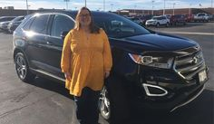 Nice Ford: Congratulations and Best Wishes Lottie on the purchase of your 2016 FORD EDGE!  ...  HAPPY CUSTOMERS!!!! Check more at http://24car.top/2017/2017/05/10/ford-congratulations-and-best-wishes-lottie-on-the-purchase-of-your-2016-ford-edge-happy-customers/