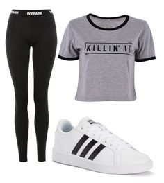 """""""Untitled #162"""" by tia12502 on Polyvore featuring adidas and Topshop"""